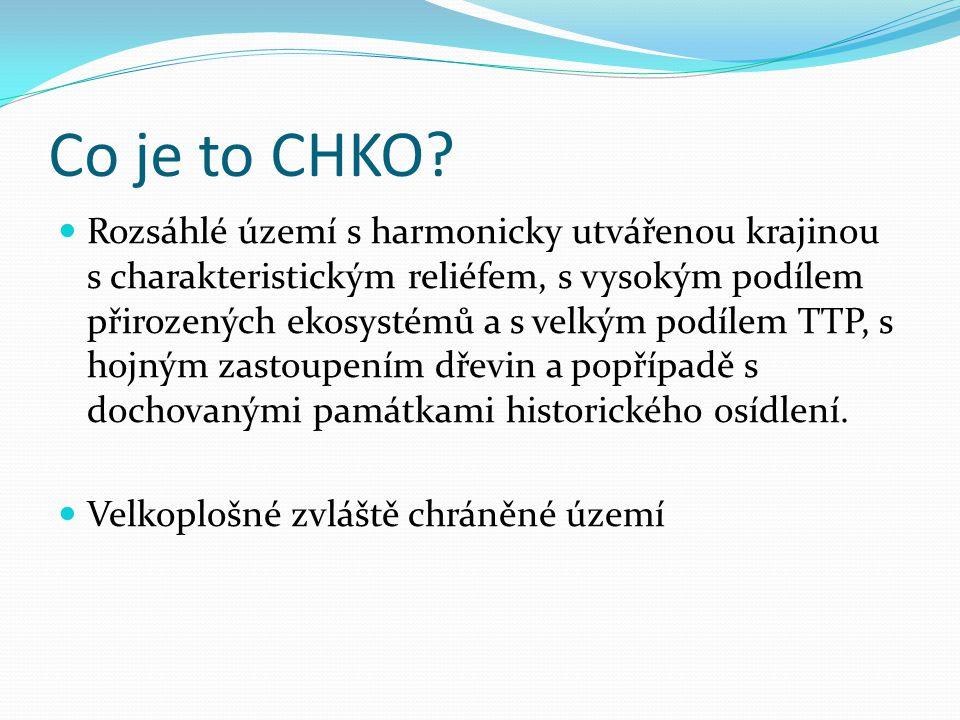 Cíl ochrany Zachovat harmonicky utvářenou krajinu a způsob hospodaření, který vedl k vytvoření krajiny např.: obnova vstavačových luk v Bílých Karpatech, zachování rybníkářské oblasti na Třeboňsku