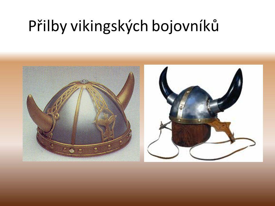 Přilby vikingských bojovníků
