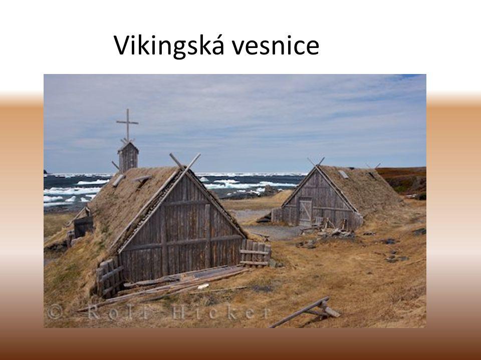 Vikingská vesnice