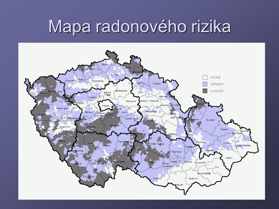 Mapa radonového rizika