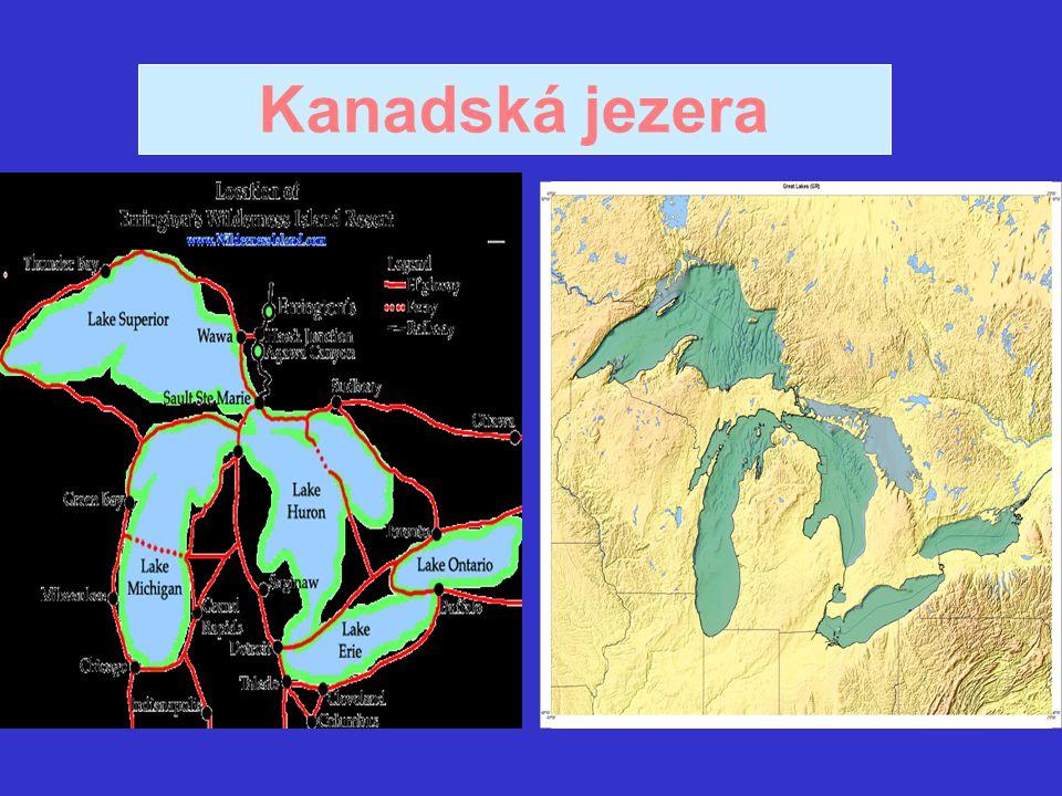 Kanadská jezera
