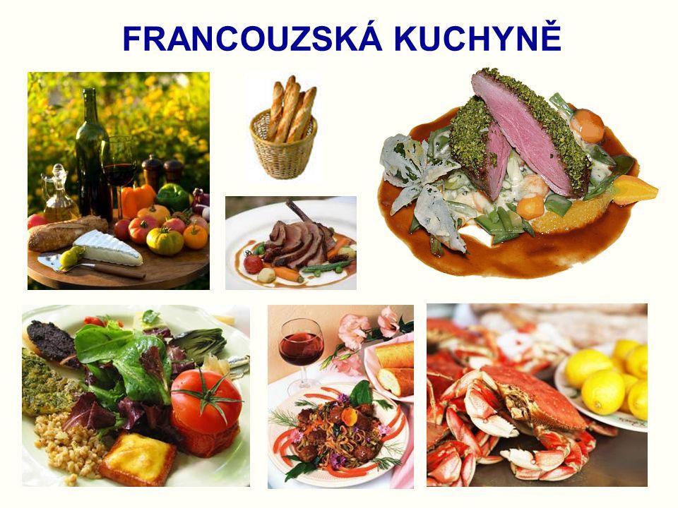 FRANCOUZSKÁ KUCHYNĚ