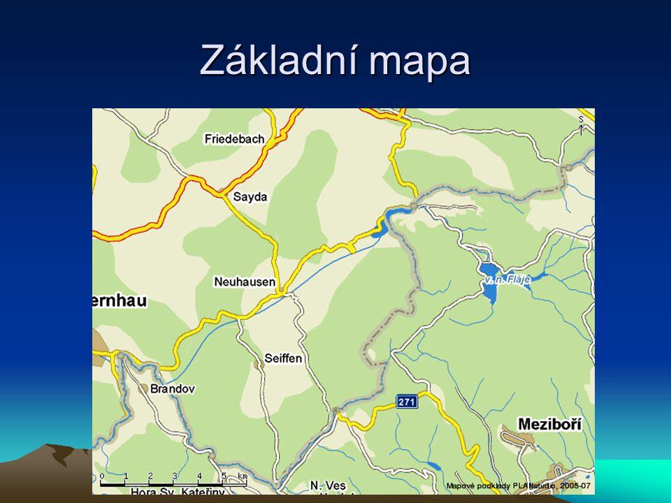 Základní mapa