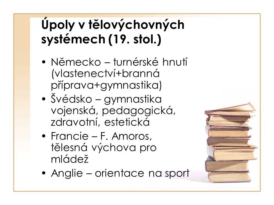 Úpoly v tělovýchovných systémech (19.