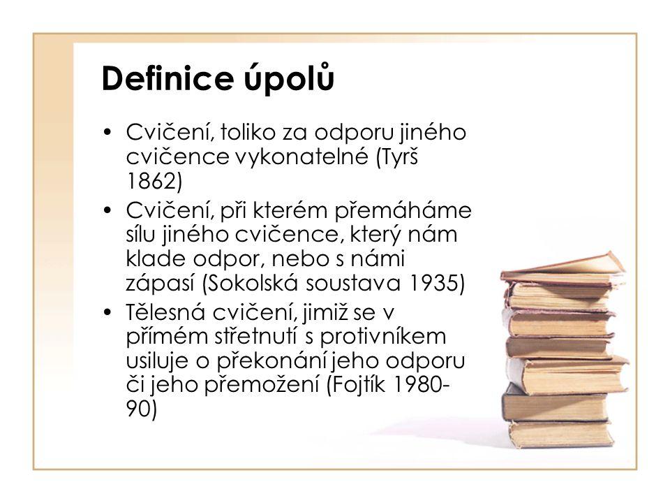Systematika úpolů 1862 Sokolská soustava I.