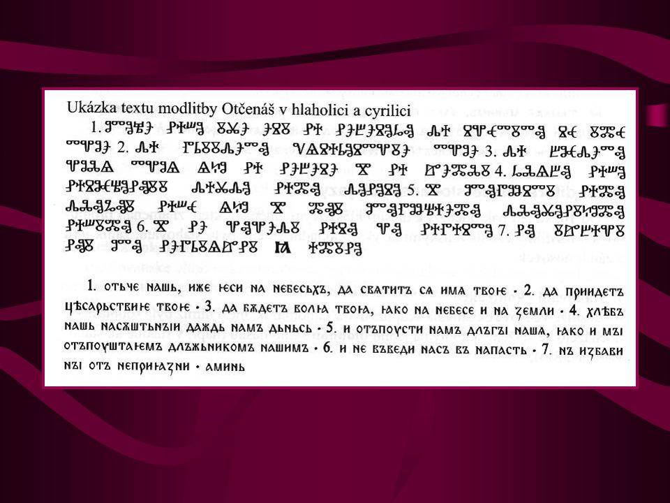 Konec staroslověnštiny - po Metodějově smrti (6.