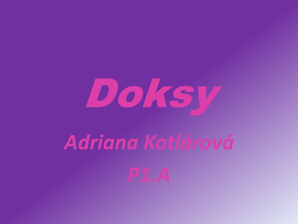 Doksy Adriana Kotlárová P1.A