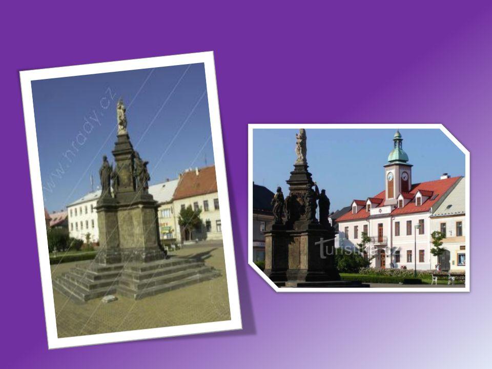 Socha sv.Prokopa, Doksy Před Hospitálkem se nachází zrestaurovaný originál sochy sv.