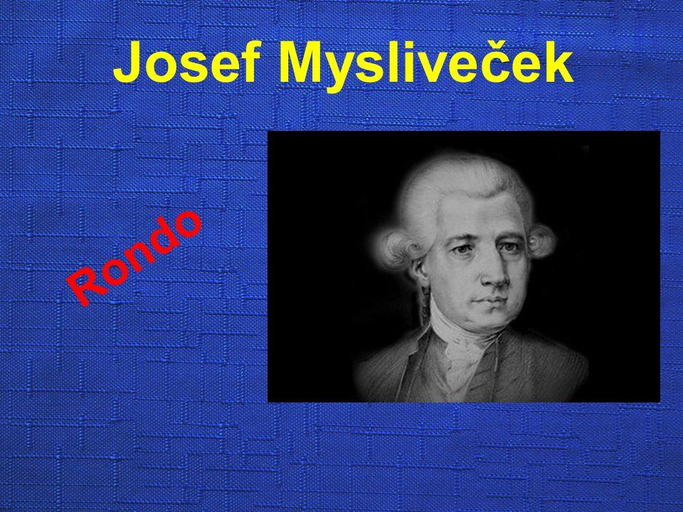 Josef Mysliveček Rondo
