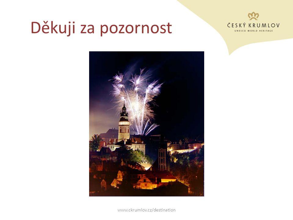 Děkuji za pozornost www.ckrumlov.cz/destination
