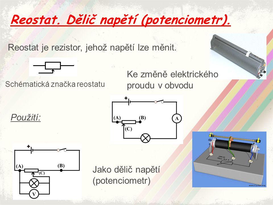 Elektrická práce, elektrická energie.