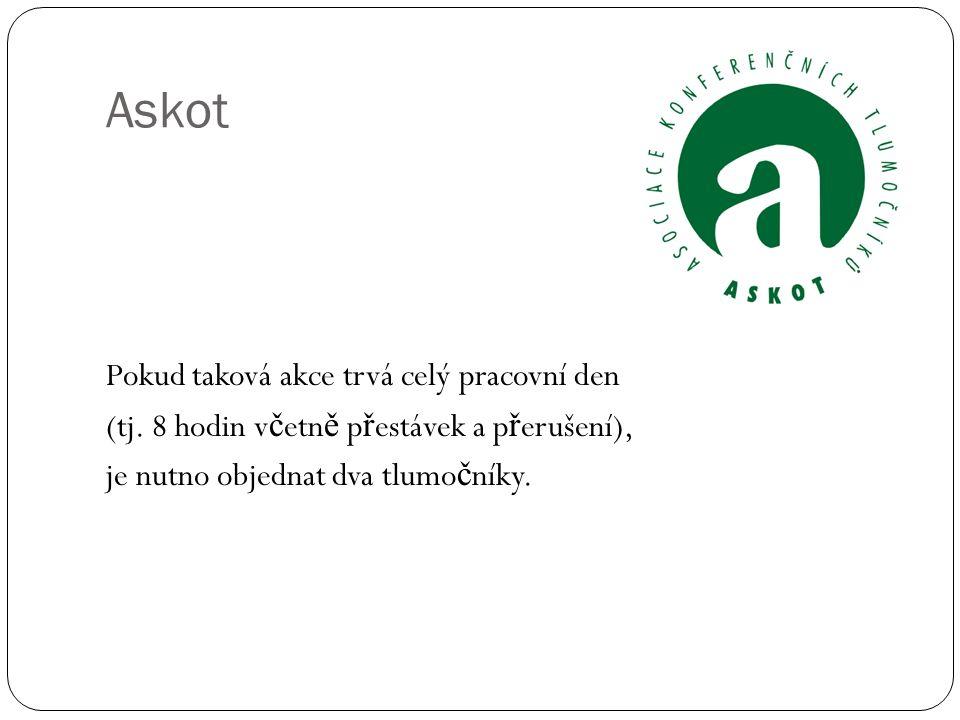 Zdroje: http://www.askot.cz/ http://www.jtpunion.org/ http://www.kstcr.cz/ TOP (tlumo č ení-p ř eklad) 110/2013 zavedení tlumo č níci