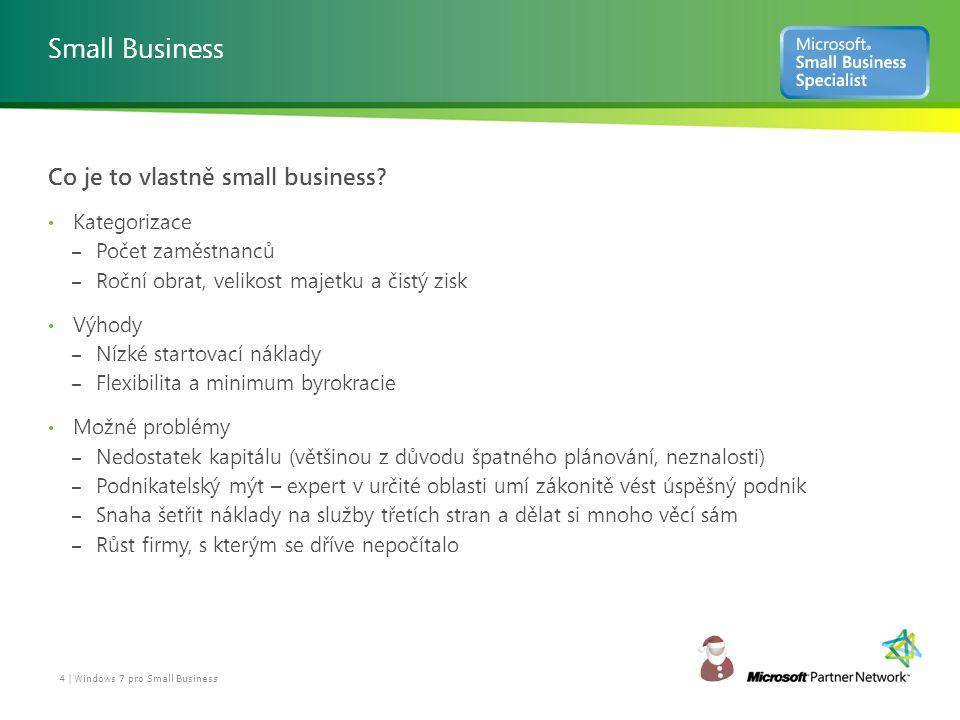 Proč by měl Small Business uvažovat o Windows 7.Co získám přechodem na Windows 7.