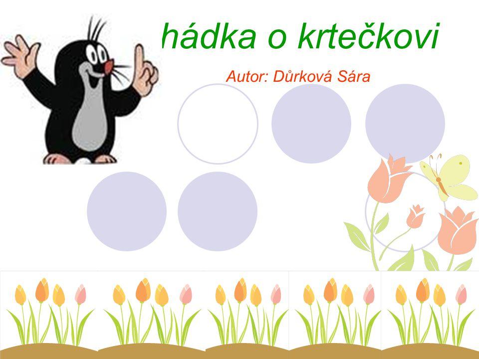 Pohádka o krtečkovi Autor: Důrková Sára