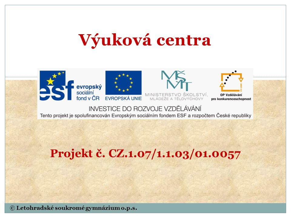 © Letohradské soukromé gymnázium o.p.s. Pyrit