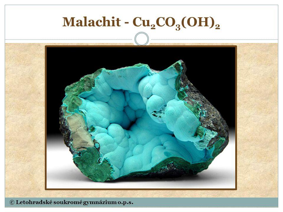 Siderit – ocelek - Fe[CO 3 ]