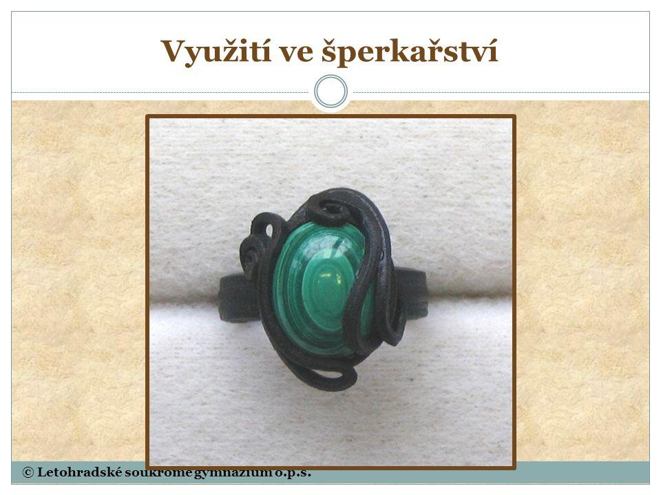 © Letohradské soukromé gymnázium o.p.s. Sfalerit - ZnS