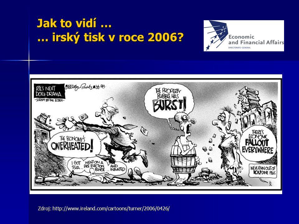 Jak to vidí … … irský tisk v roce 2006? Zdroj: http://www.ireland.com/cartoons/turner/2006/0426/