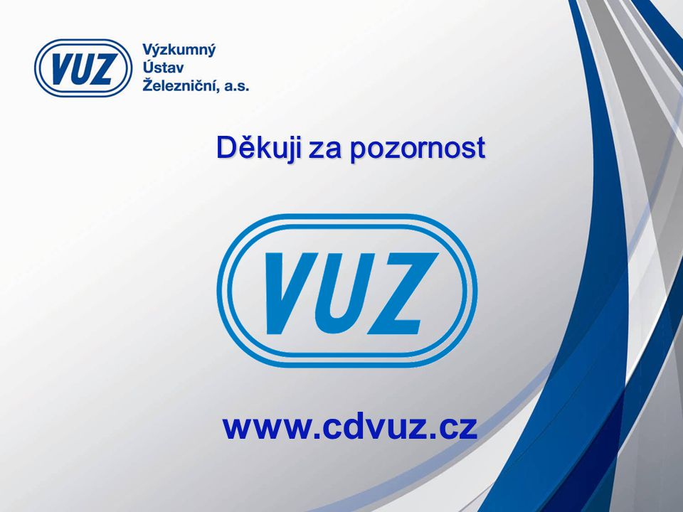 Děkuji za pozornost www.cdvuz.cz