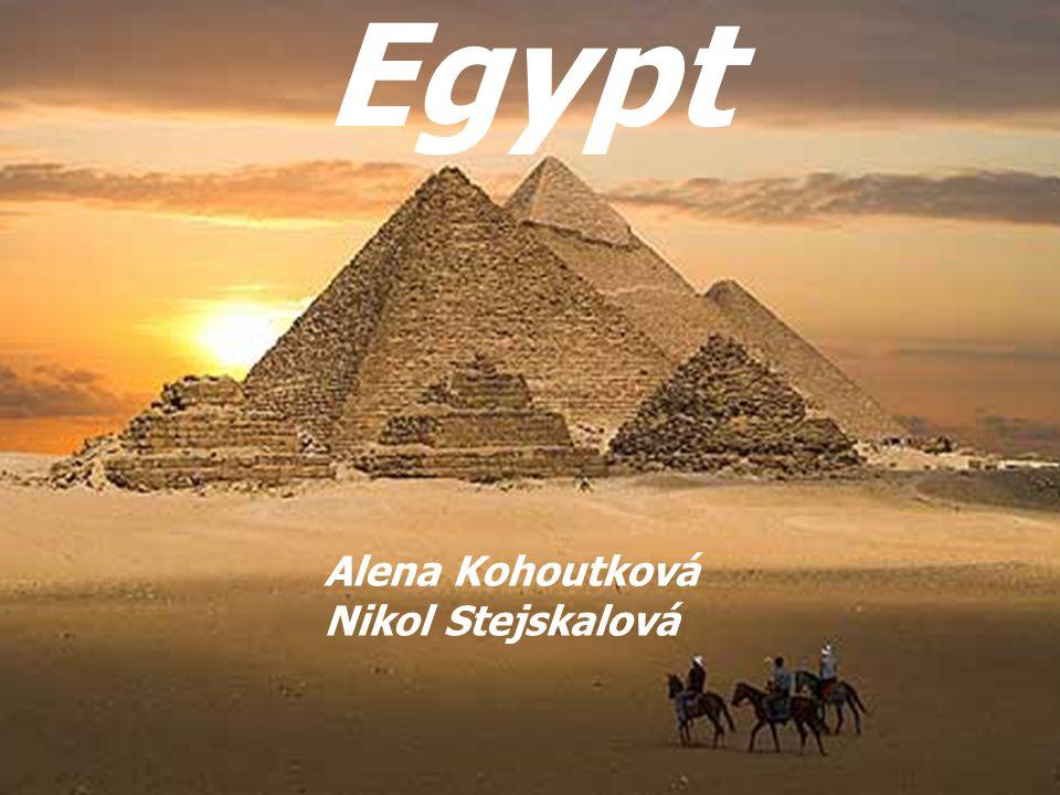 Egypt Alena Kohoutková Nikol Stejskalová