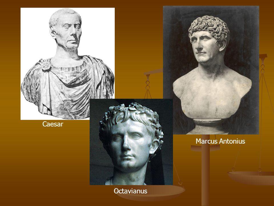 Caesar Marcus Antonius Octavianus