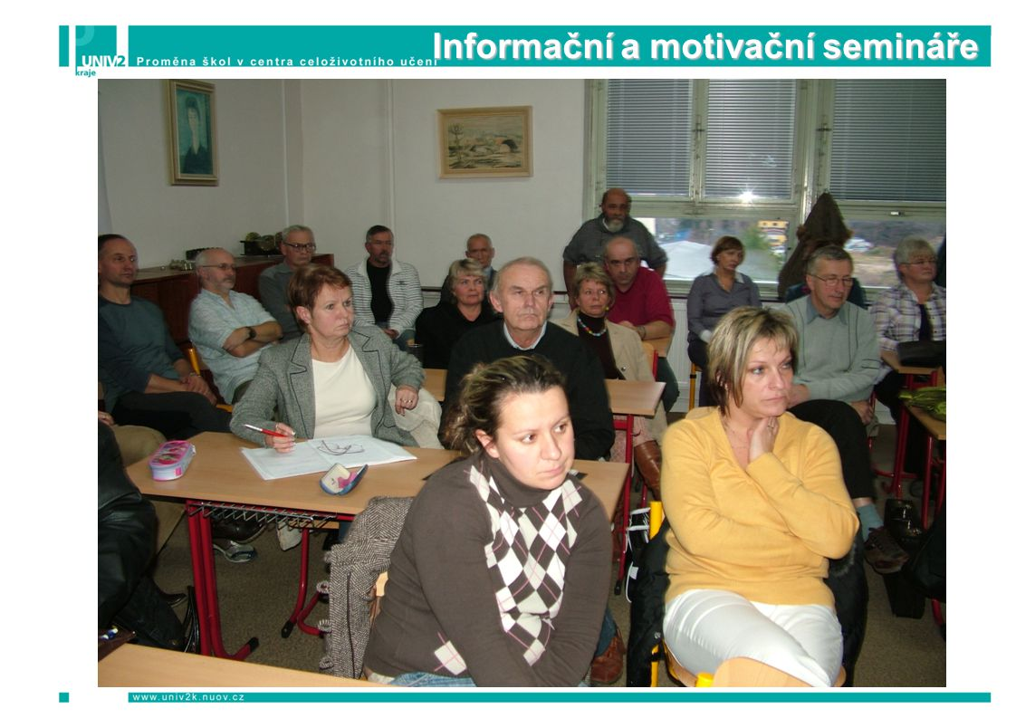 Porady s mentory škol 2009 – 2011 Počet: 2 Počet osob: 57 z toho 29 žen