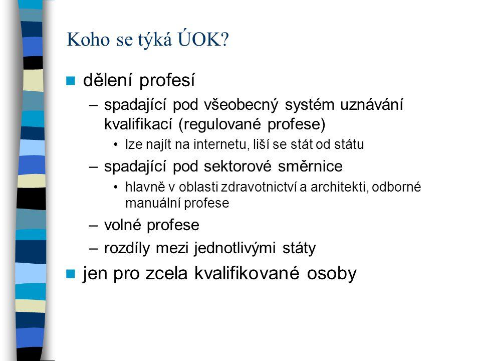 cizí pracovníci pracující v ČR a bydlící v jiném státě –česká ZP posuzuje, zda vám uzná bydliště (pak rozdělení péče) –pozor na pendlery –NRP neplatí pojištění, pokud by neplatili ani v ČR čeští pracovníci pracující v EU –obecně podléháte sociální legislativě v místě práce (zde pravidla i pro zdravotní pojištění) pokud výdělek v ČR i jinde, tak pojištění v místě bydliště (platíte pojistné v ČR i z příjmů v zahraničí) pokud podnikáte v ČR a pracujete i jinde, nutné platit v obou státech (výjimka z principu) možnost žádat o výjimku, pokud chcete zůstat pojištěn v ČR nutné informovat českou ZP před vycestováním či výdělečnou činností –nárok na zdravotní péči plná péče v ČR –žádost u zahraniční pojišťovny, zda uzná bydliště (pak vydání formuláře E106, předloží se české ZP) nezbytná péče v ČR –musíte si vystavit EPZP u zahraniční pojišťovny (neuznané bydliště) plná zdravotní péče v ČR u NRP –pokud zde bydlí, v každém případě plná péče na účet zahraniční pojišťovny –česká pojišťovna může vyžadovat doložení rodinného stavu –návrat do českého systému pokud už nepracujete či neberete žádné sociální dávky- zpět do systému ČR nutné okamžitě hlásit, schovat si potvrzení o placení zdravotního v jiném státě Postupy u jednotlivých osob