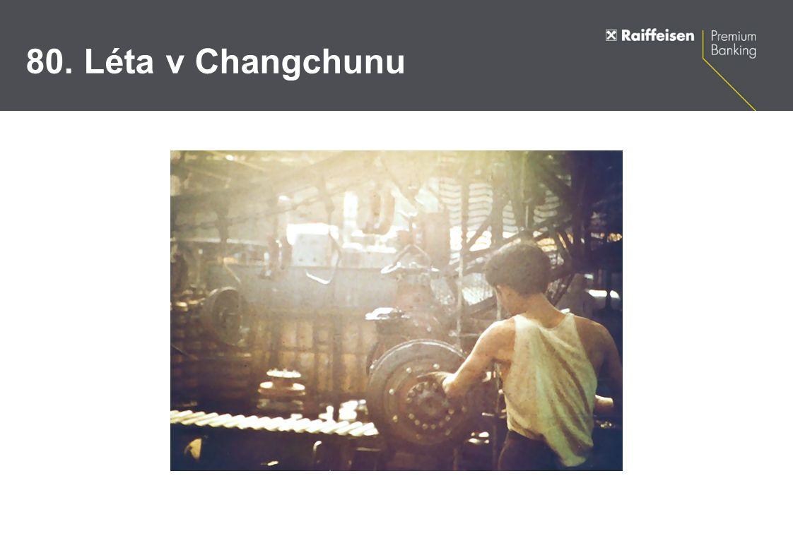Současnost v Changchunu