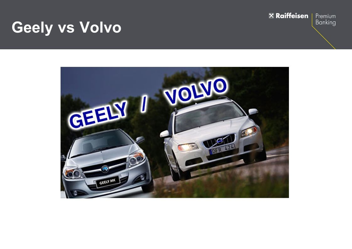 Geely vs Volvo
