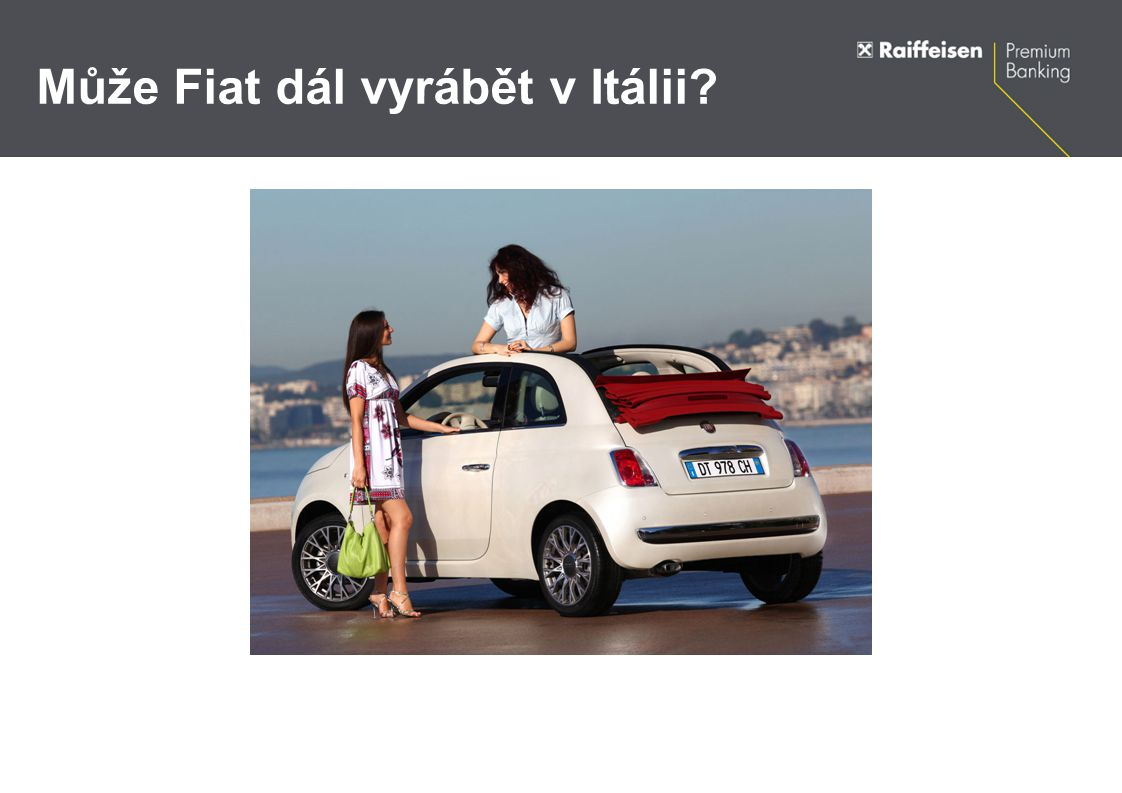 Může Fiat dál vyrábět v Itálii