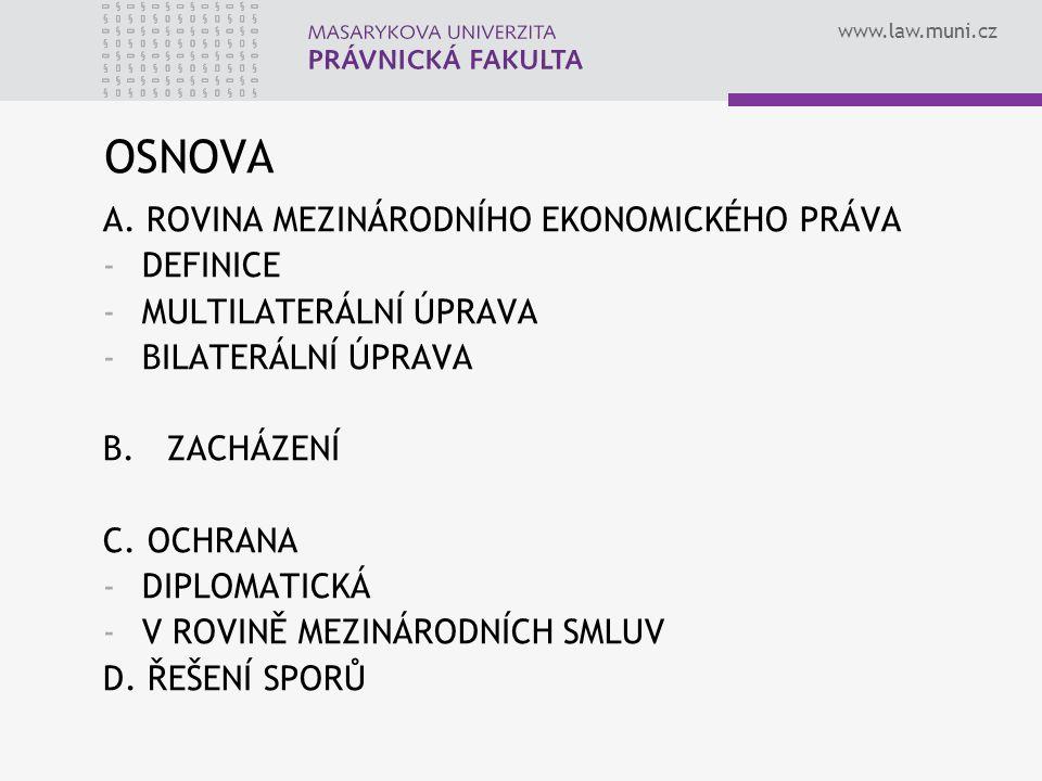www.law.muni.cz OSNOVA A.