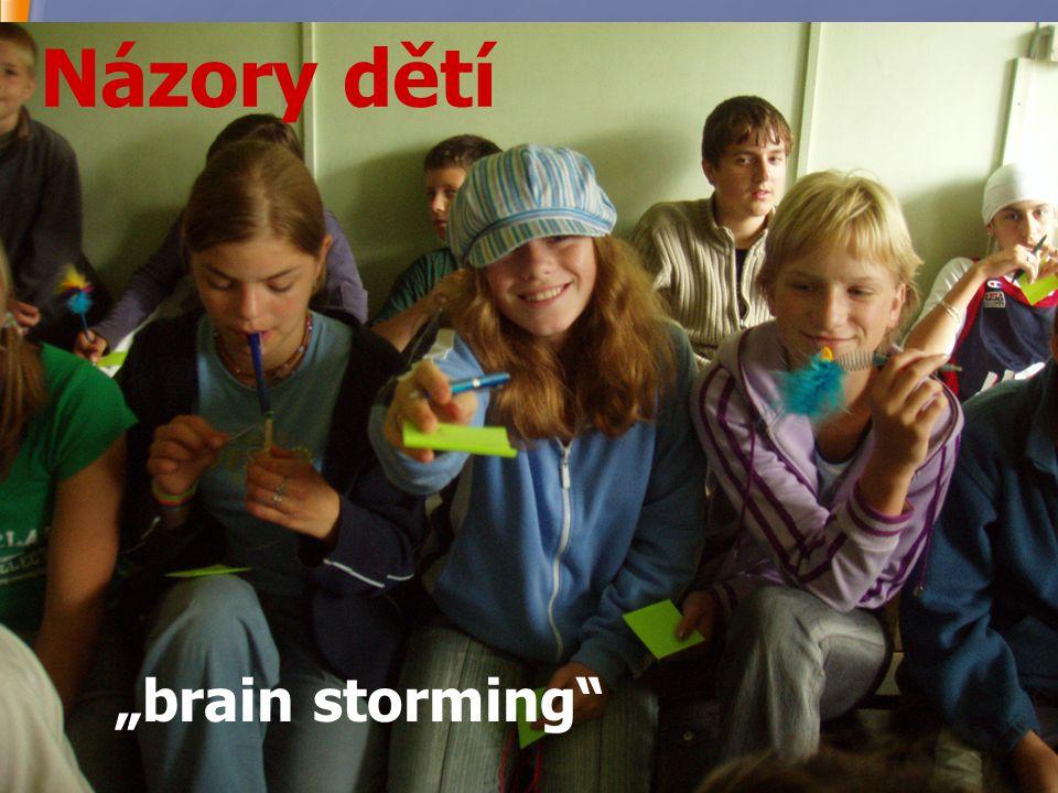 """14 Názory dětí """"brain storming"""