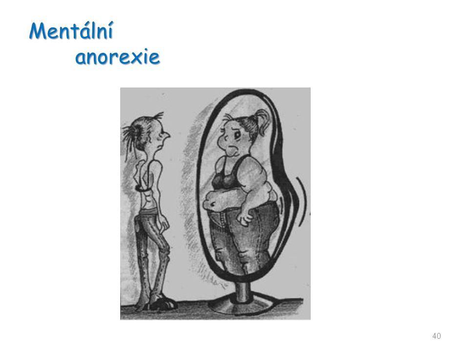 Mentální anorexie 40