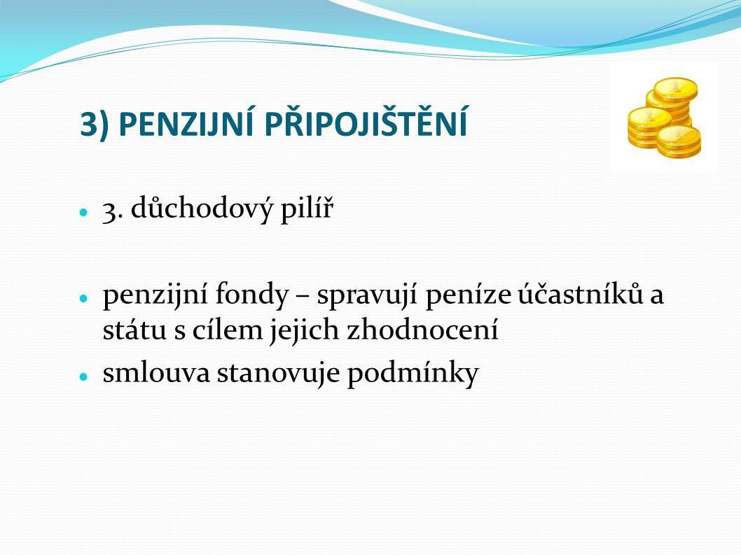3) PENZIJNÍ PŘIPOJIŠTĚNÍ 3.