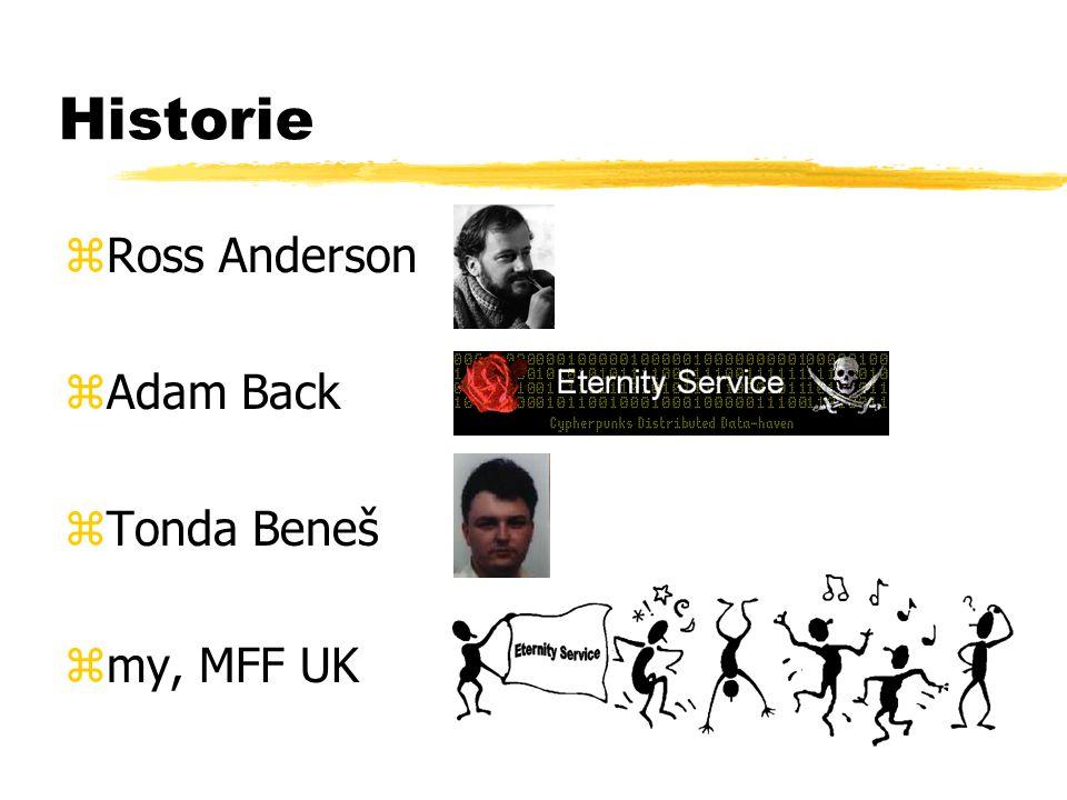 Historie zRoss Anderson zAdam Back zTonda Beneš zmy, MFF UK