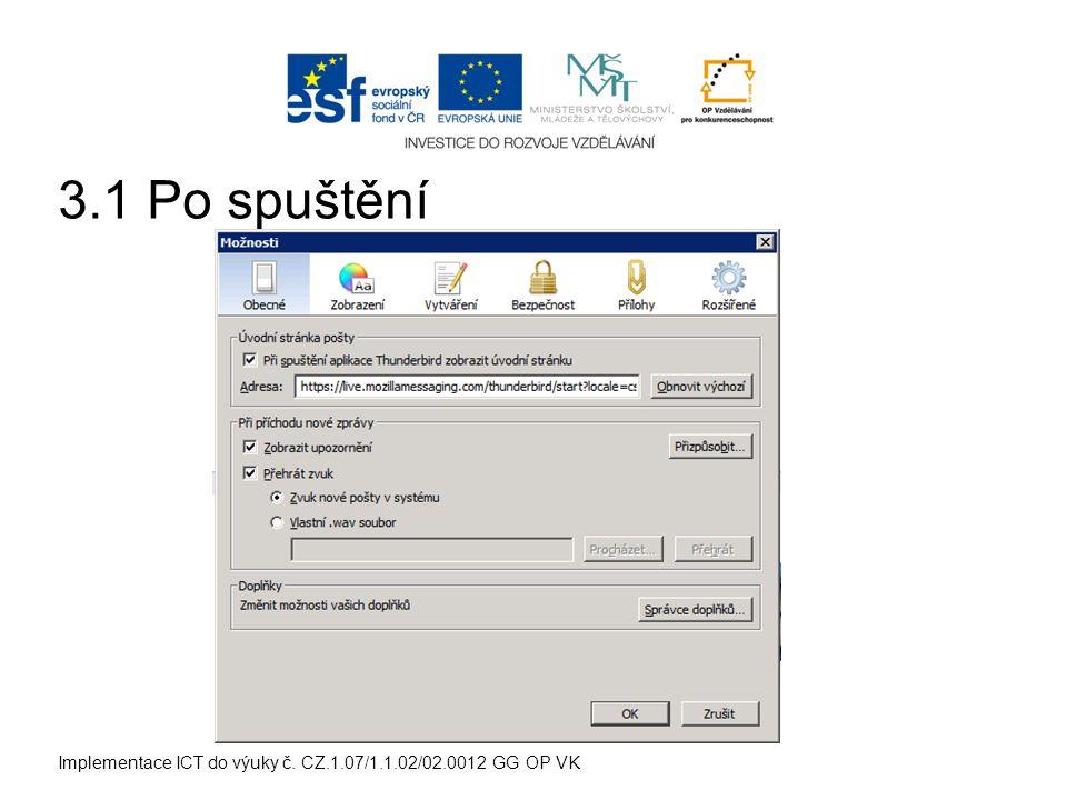 Implementace ICT do výuky č. CZ.1.07/1.1.02/02.0012 GG OP VK 3.2 Nastavení textu a pozadí