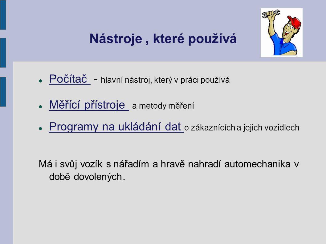 Autorizovaný servis Řetězec autoopraven - např.