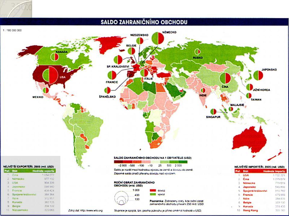 Integrace Odstranění bariér vzájemného obchodu 1) Zóna volného obchodu (NAFTA, EFTA) 2) Celní unie (JACU) 3) Společný trh (státy EU mimo eurozónu) Mezinárodní organizace – WTO (World Trade Organization), IMF (International Monetary Fund), WB (World Bank)