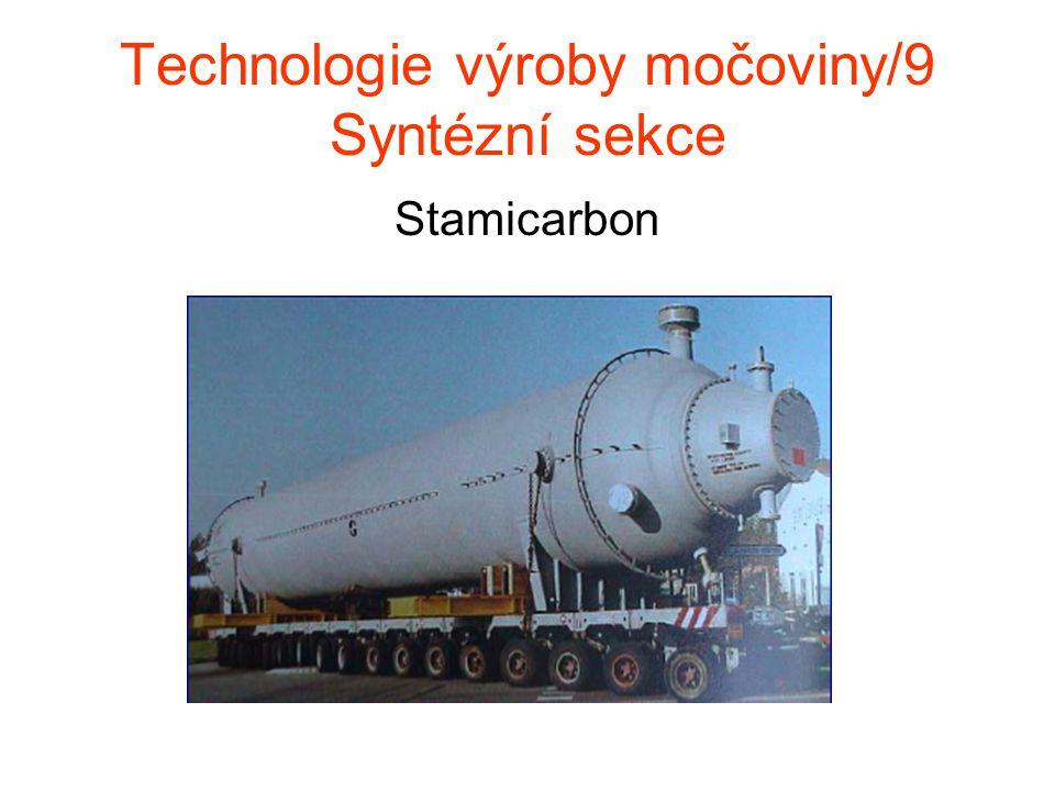 Technologie výroby močoviny/9 Syntézní sekce Stamicarbon