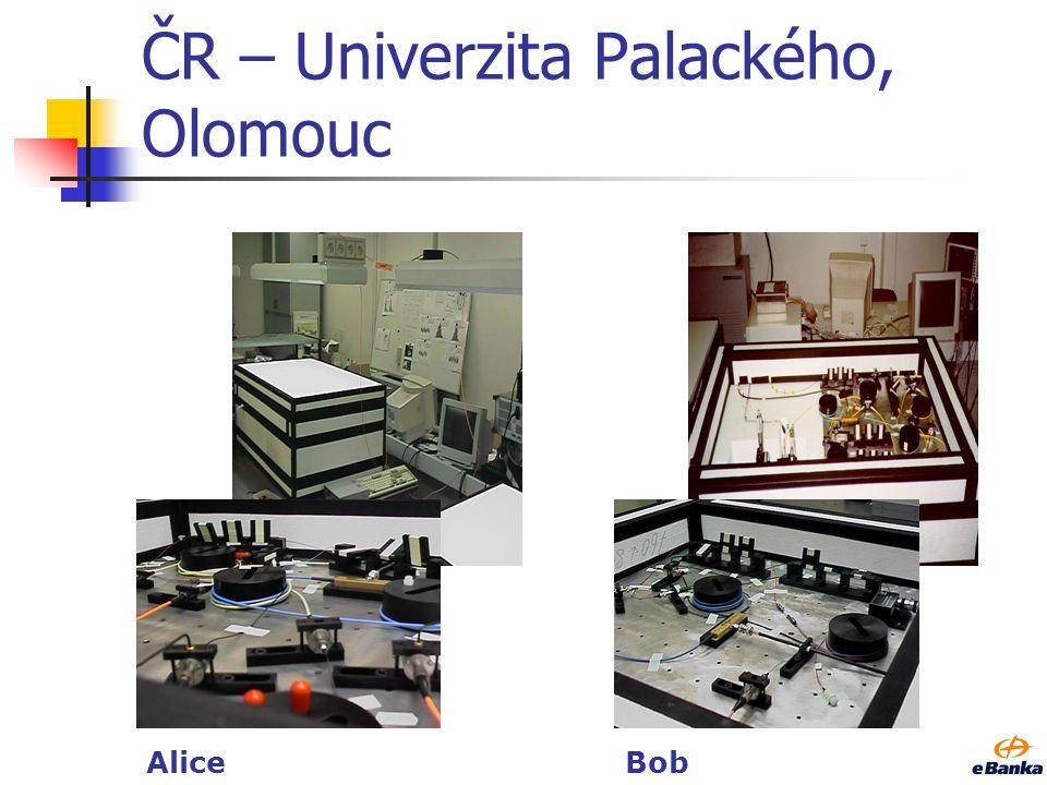 ČR – Univerzita Palackého, Olomouc AliceBob