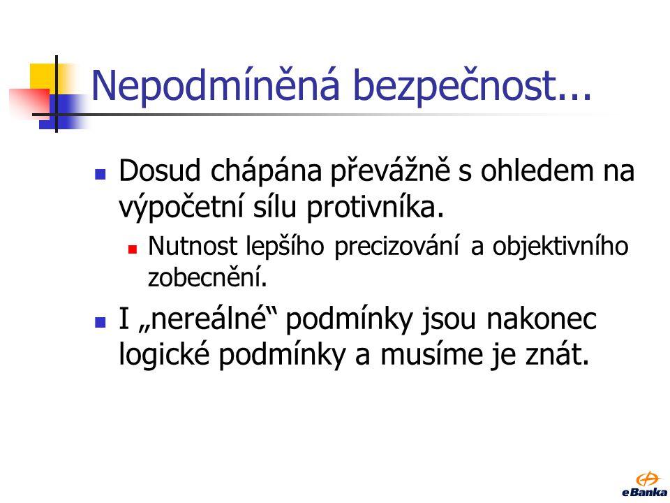 Doporučená literatura Obecně ArXiv (archiv vědeckých článků o fyzice a matematice) http://arxiv.org Archiv (zejména českých) článků o kryptologii http://crypto.hyperlink.cz, http://crypto.hyperlink.cz/cryptoprax.htm http://crypto.hyperlink.czhttp://crypto.hyperlink.cz/cryptoprax.htm Kryptografie, BB84 Dušek, M., Haderka, O.
