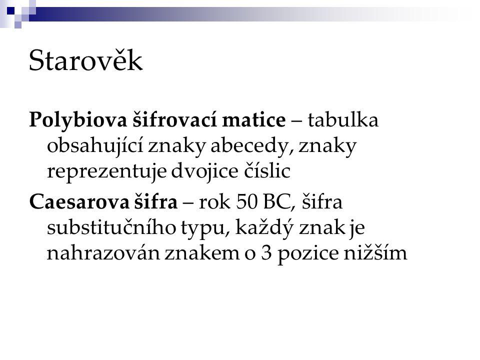 Středověk Stenografie – 16.