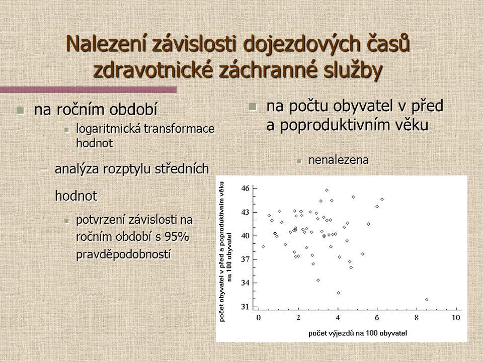 Mapový podklad DMU 200  Generální štáb AČR Město Albrechtice Krnov Bruntál Rýmařov Dojezdové časy zdravotnické záchranné služby z výjezdních středise
