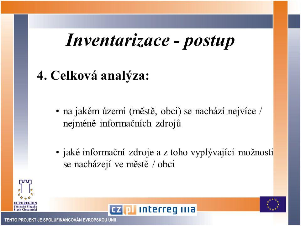 Inventarizace - postup 4.