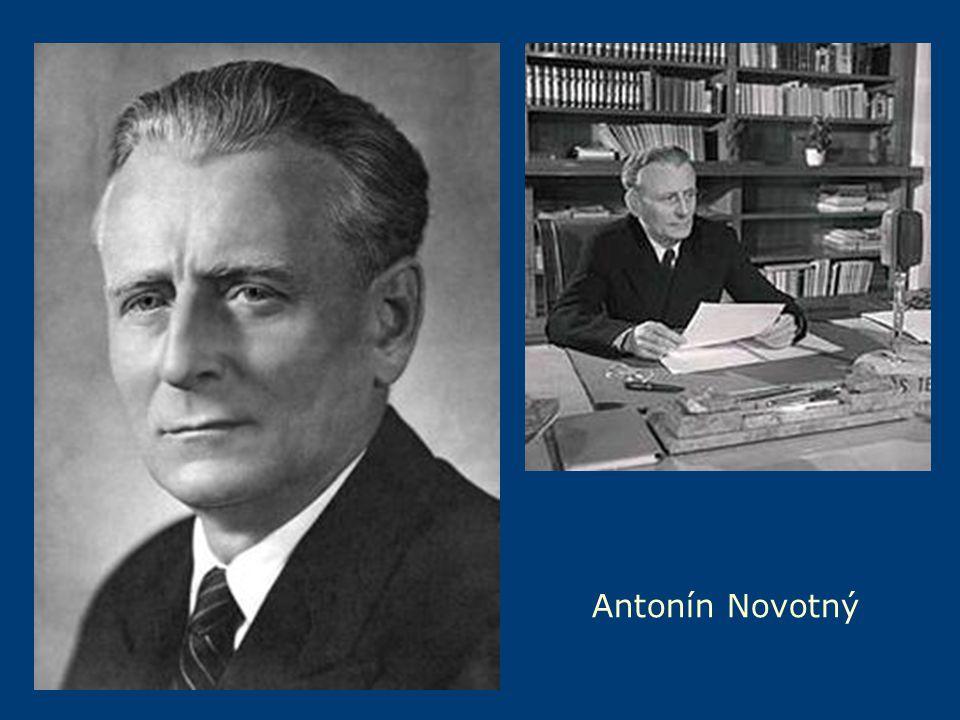 a Antonín Novotný