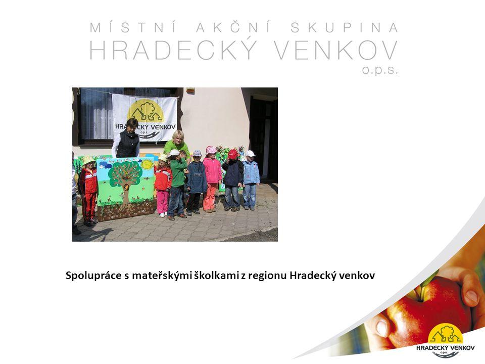 Spolupráce s mateřskými školkami z regionu Hradecký venkov
