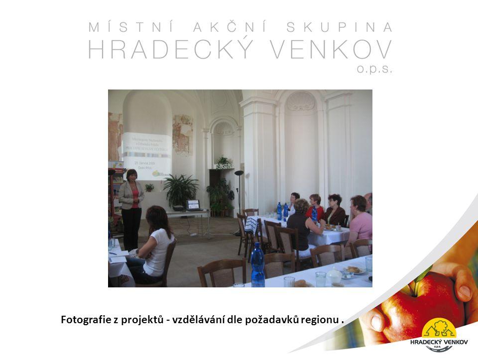 Fotografie z projektů - vzdělávání dle požadavků regionu.