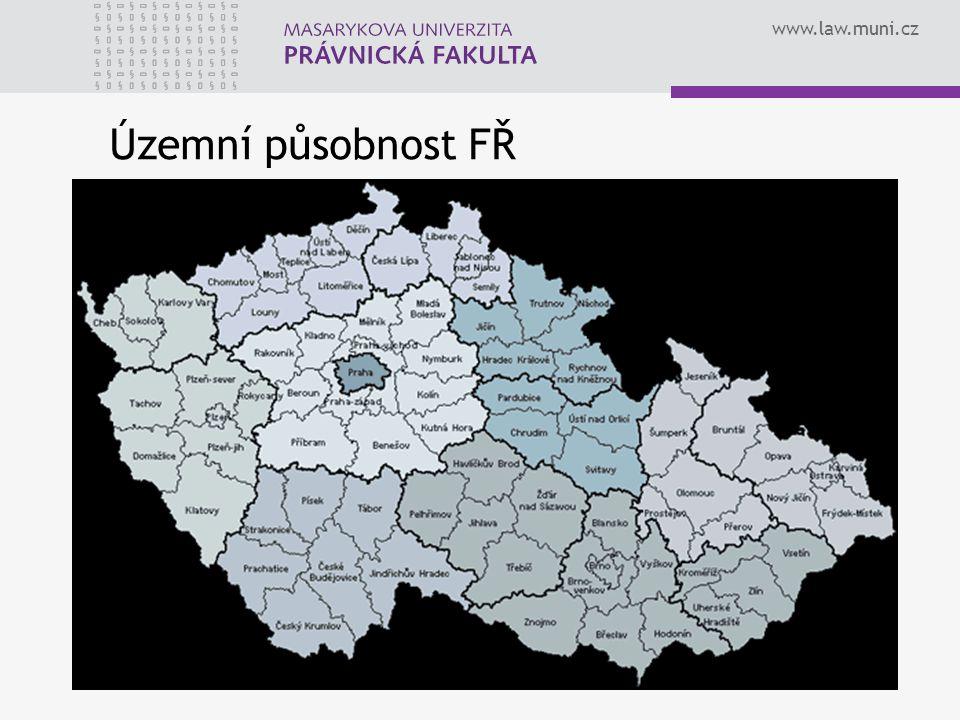 www.law.muni.cz Územní působnost FŘ