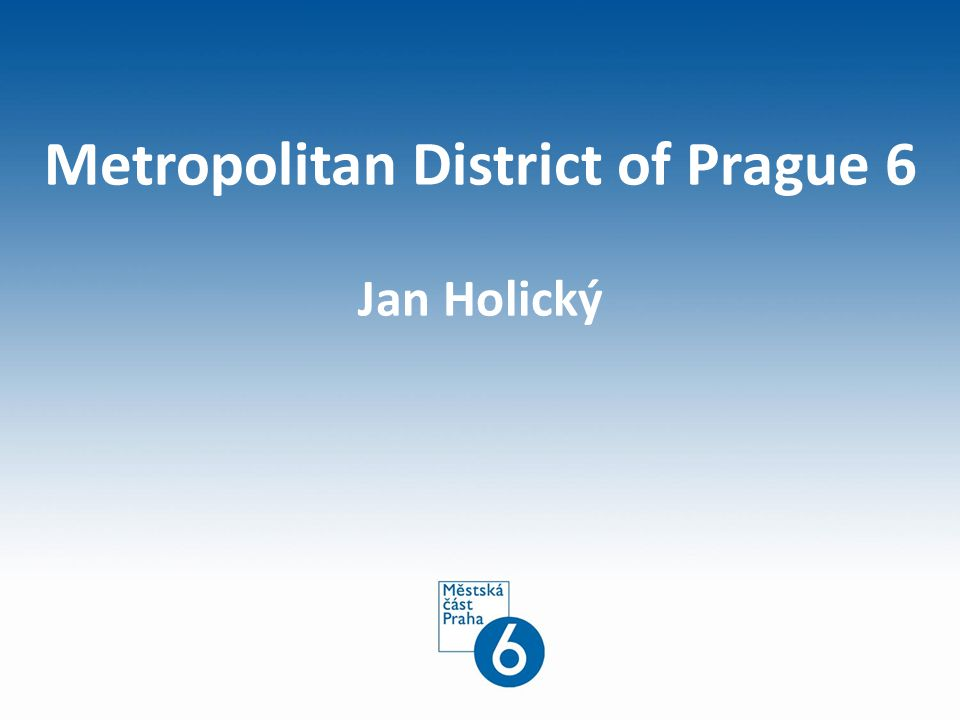 Metropolitan District of Prague 6 Jan Holický