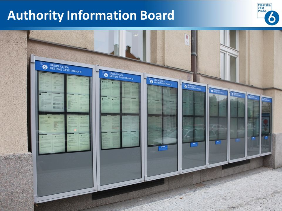 Authority Information Board
